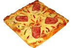 Πίτσα τετράγωνη 4 τμχ