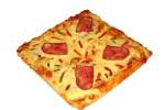Πίτσα τετράγωνη μικρή 4 τμχ