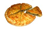 Special peasant spinach cheese pie