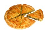 Special peasant leek pie with cheese 6 pcs
