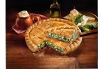 Peasant spinach pie with cheese 850 gr