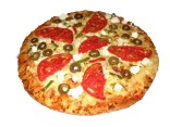 Vegetarian round pizza 5 pcs