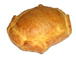 Special puff pastry kaseri cheese pie